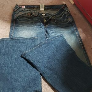 Original true religion ultra flare jeans 27